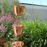 chaînes de pluie à base de coupelles