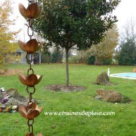 chaine de toit et jardins