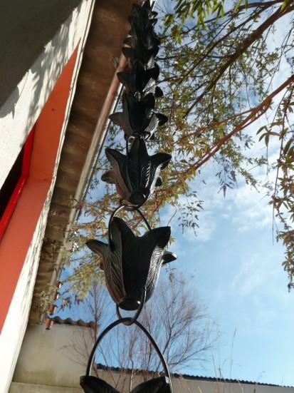 chaîne de toit décorative