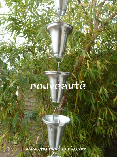 chaine de gouttière moderne et élégante shinbashi