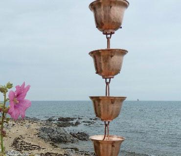 Copas Anchas Cadenas de Lluvia