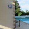 Kusiro esta una canalón decorativa en acero originario del Japón.