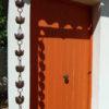 Ôtemachi esta una canalón decorativa en cobre originario del Japón.