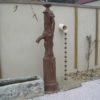 Otemachi esta una canalón decorativa en cobre originario del Japón.