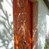 Ponto Chô esta una canalón decorativa en cobre originario del Japón.