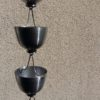 Feng Shui est une gouttière décorative en aluminium originale.