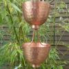 Zenloki esta una canalón decorativa en cobre original.
