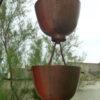 Zen est une gouttière décorative en cuivre original